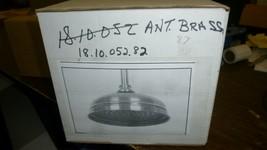 "Sigma 18.10.052 Antique Brass 8"" Skirted Rainhead - $275.00"