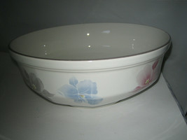 "Mikasa Continental Beau Monde Vegatable Bowl 8 1/2""  Japan F3007 Hard to... - $24.99"