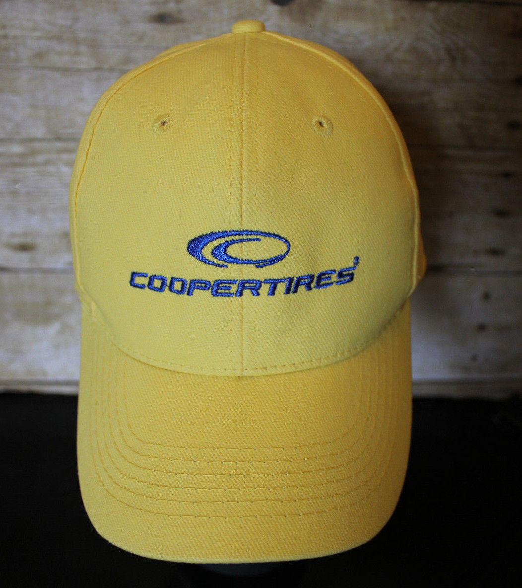 Cooper Tires Yellow Golf Hat CooperTires and 28 similar items. S l1600. S  l1600. Previous 6756f160108a