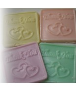 thank you soaps. set of 4 - $3.60