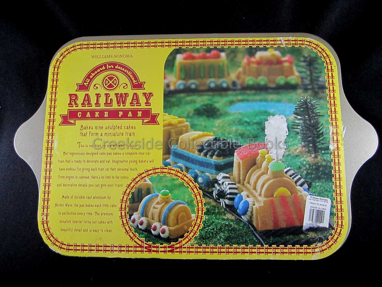 Railway cake pan gallery