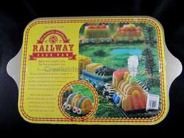 Nordic Ware Railway Train Cake Pan Williams-Sonoma Cast Aluminum - $24.99