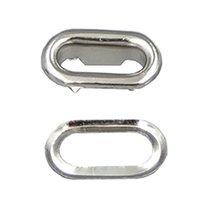 "Bluemoona 200 Sets - Metal Oval Shaped Eyelets Grommet 4MM 3/16"" X 7MM 1... - $5.99"