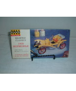 Hawk Highway Classics 1909 Hupmobile 1/24 scale 1964 Molded in 2 colors - $34.63