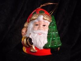 Vintage 1960's Santa Bell Christmas Ornament - $11.24