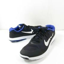 Nike Flex Experience RN 4 2015 Mens Sz 10 Black Blue Running Shoes 74917... - $24.74