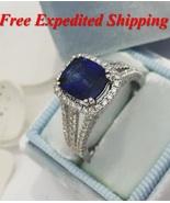 Pphire engagement rings white gold split pave band diamond halo minichiellojewellers 1 thumbtall