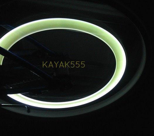 2 X NEON LED VALVE STEM BIKE//CAR RIMS WHEEL LIGHTS ATV SCOOTER MOTORCYCLE ETC...