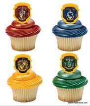 Harry Potter CupCake Cake Topper 12 18 24 Favor Decoration Birthday Logo... - $7.87+