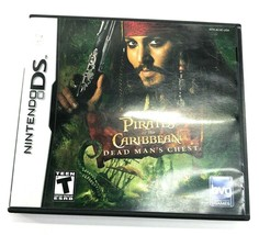 Nintendo DS Disney Pirates of the Caribbean Dead Mans Chest Game/ Manual... - $9.45