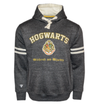HP129 Licensed Unisex Hogwarts™ Hooded Hoodie Sweatshirt-Charcoal Harry ... - $44.99