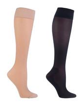 Sock Shop Womens 40 Den 14-18 mmHg Graduated Compression DVT Flight Trav... - $9.99
