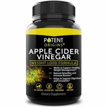 100% Natural Apple Cider Vinegar 1000mg 90 Capsules Weight Loss Exp 09/2021 (9) - $9.99