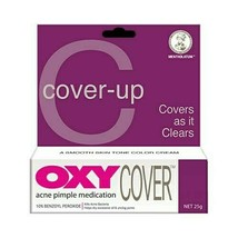 OXY Cover Acne Pimple Medication Treatment 10% Benzoyl Peroxide 25g X 3 tubes - $49.01