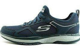 NEW Men's Skechers Burst Athletic Slip-On Memory Foam Shoes Black or Navy image 10