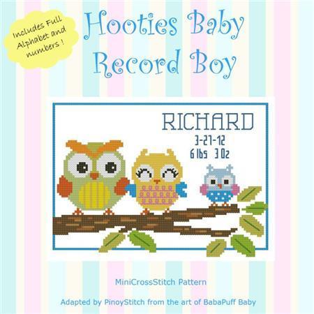 8787 hooties baby record boy