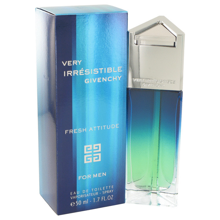 Givenchy Very Irresistible Fresh Attitude Cologne 1.7 Oz Eau De Toilette Spray