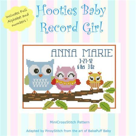 8788 hooties baby record girl