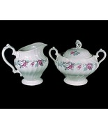 Myott Olde Chelsea Rose China Sugar Bowl Creamer Staffordshire England V... - $11.95