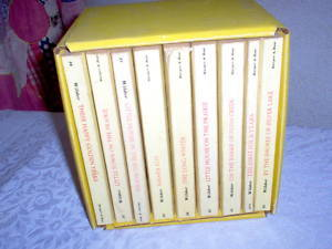LAURA INGAILS WILDER'S LITTLE HOUSE BOOKS~Complete Set