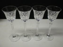 4 MIKASA LARCHMONT CORDIAL / SHERRY'S~~rare set & really elegant~~ - $29.99