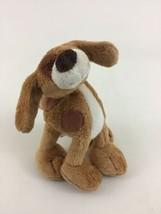 "Gund Kids Mini Puppy Dog Brown Spotted 5"" Plush Stuffed Toy Furry Federa... - $9.85"