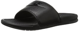NIKE Men's Benassi Just Do It Slide Sandal, Black, 8 D(M) US - $44.83 CAD