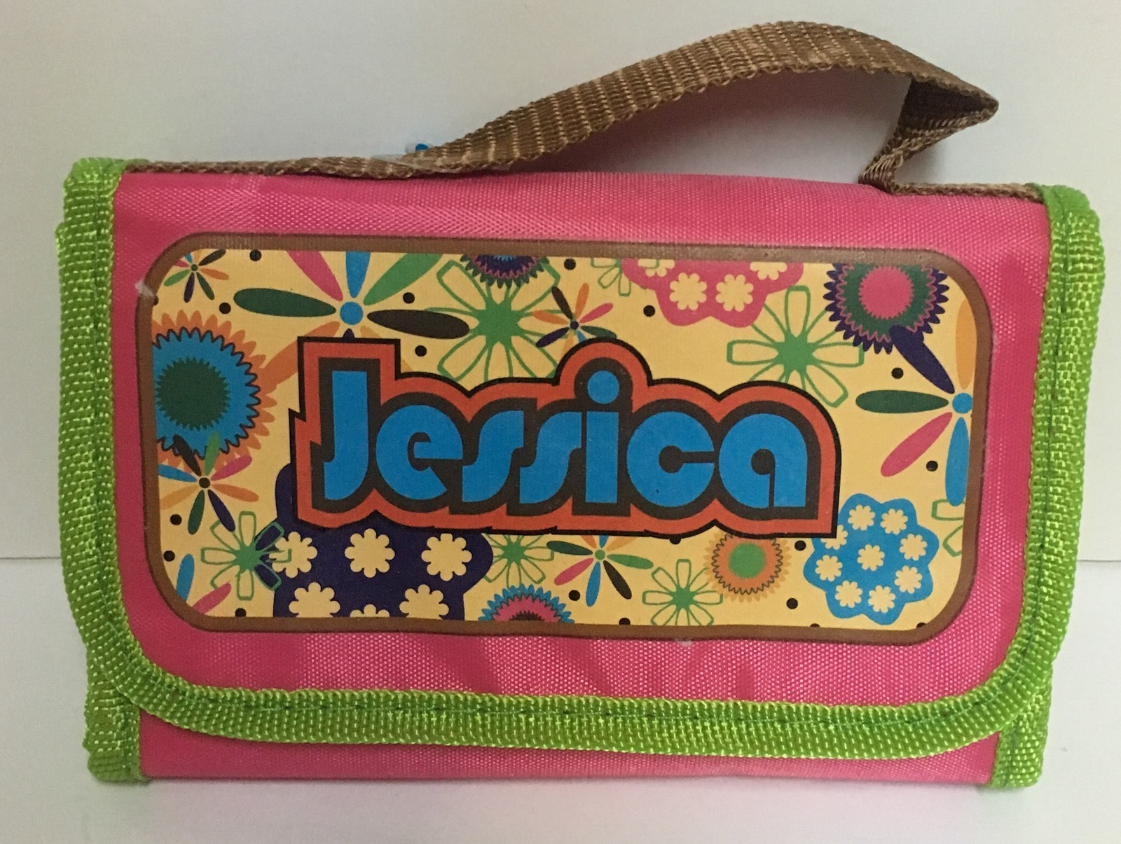Personalized Insulated Lunch Bag Fold Up JESSICA