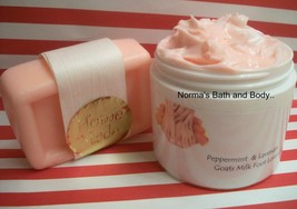Peppermint and lavender soap and lotion set thumb200