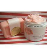 Peppermint and lavender soap and lotion set thumbtall