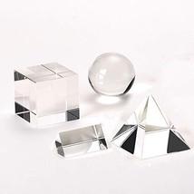 4 Pack K9 Optical Crystal Photography Prism Set - 50mm Crystal Ball - 50... - $41.46