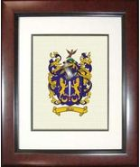 Framed Canvas Coat of Arms - $69.95