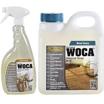 WOCA Natural Soap - Natural Color - 3 Bottle Sizes - Maintain Oiled Wood... - $27.99+