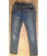 Lucky Brand Girls Size 12 Straight Leg Blue Jeans Natural Waist - $8.86