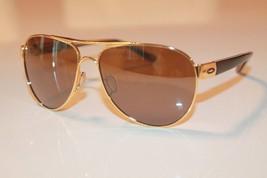 Oakley Disclosure Sunglasses OO4110-02 Polished Gold W/ Tungsten Iridium Aviator - $64.34