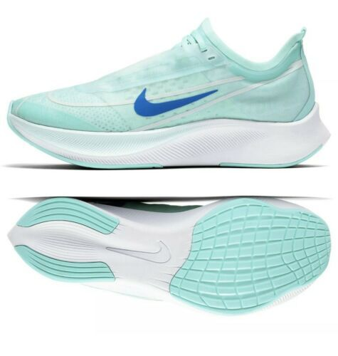 Primary image for Nike Air Zoom Fly 3 Vaporweave Running AT8241 300 Blue Teal Green Womens 7.5