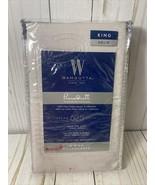 Wamsutta Lavender King Size Pillowcases 625 Thread Count Pima Cotton (Se... - $19.80