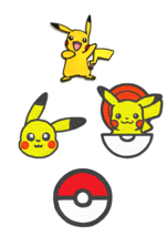 Pokemon Go Embroidery Patch Iron Sew On Cap Jeans Badge Clothes Fabric A... - $2.88+