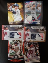 2015-2017 Buster Posey Card Lot - Relic, /99 Manufactured Patch, Inserts - $16.99