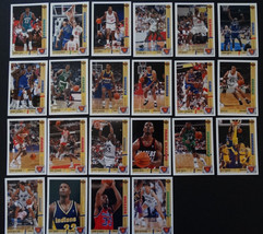 1991-92 Upper Deck Rookie Standouts Partial Insert Set Of 22 Basketball Cards - $12.00