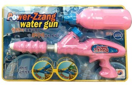 Jeus Toys Power ZZang Water Squirt Gun Pistol Soaker Blaster Toy 26 Ft (Pink) image 2