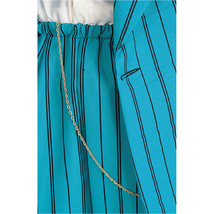 ZOOT SUIT CHAIN 24 inch Gold Colored Metal Costume Jewelry - $5.50