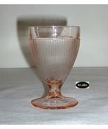 Homespun Pink Tumbler 4 In. Ftd Jeannette - $6.25