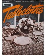 Vintage 1948 Crochet Tablecloth Pattern Booklet - $5.99