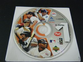 EA SPORTS AL Central Baseball CD-Rom Video Game Post Cereal Promo #1 - $9.89