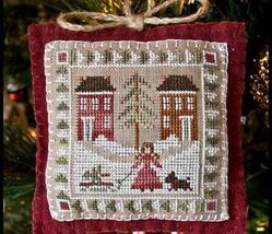 Bringing Home The Tree Ornament 2011 Series #2 pattern Little House Needleworks - $5.40
