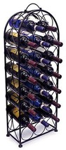 Sorbus Wine Rack Stand Bordeaux Chateau Holds 23 Bottles of Your Favorit... - $51.33