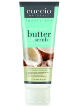 Cuccio Naturale Butter & Scrub, Coconut & White Ginger  4oz