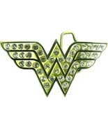 Wonder Woman Licensed Rhinestone Belt Buckle - $22.00