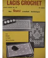 Vintage Doily Cheval Set Mats Lacis Crochet Pattern Booklet - $5.99